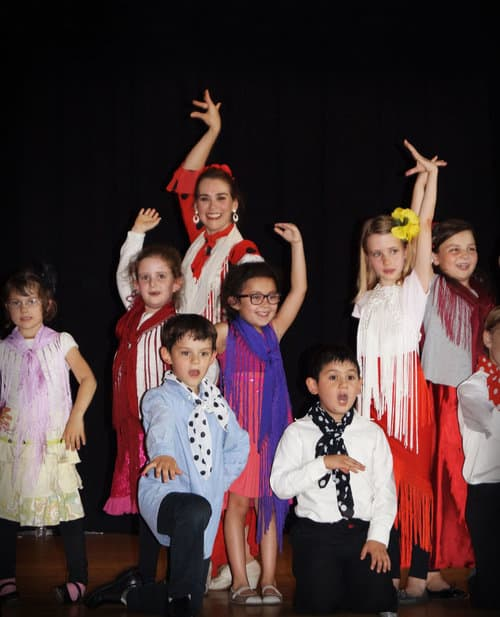Spanish Art of Flamenco Dance Program for Kids