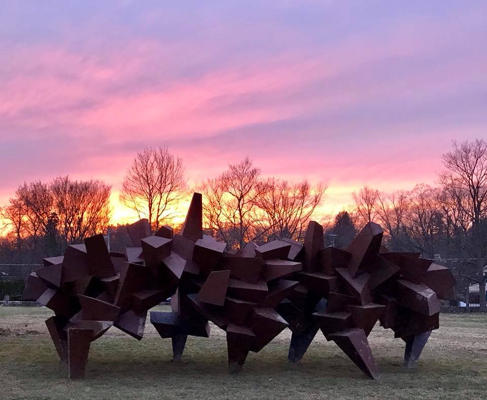 Malcolm MacDougall III Sculpture at Bethany Arts Community