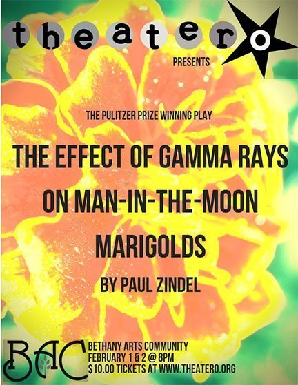 Theater O Presents: The Effect of Gamma Rays on Man-in-the-Moon Marigolds