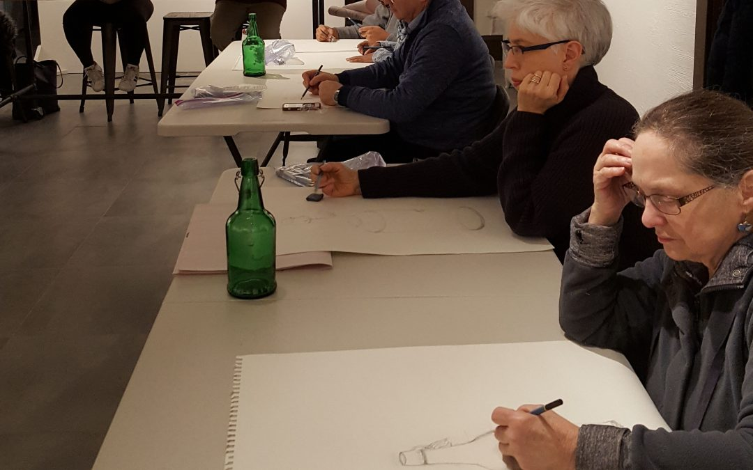 Intermediate Drawing Class Series Starting April 3, 2019