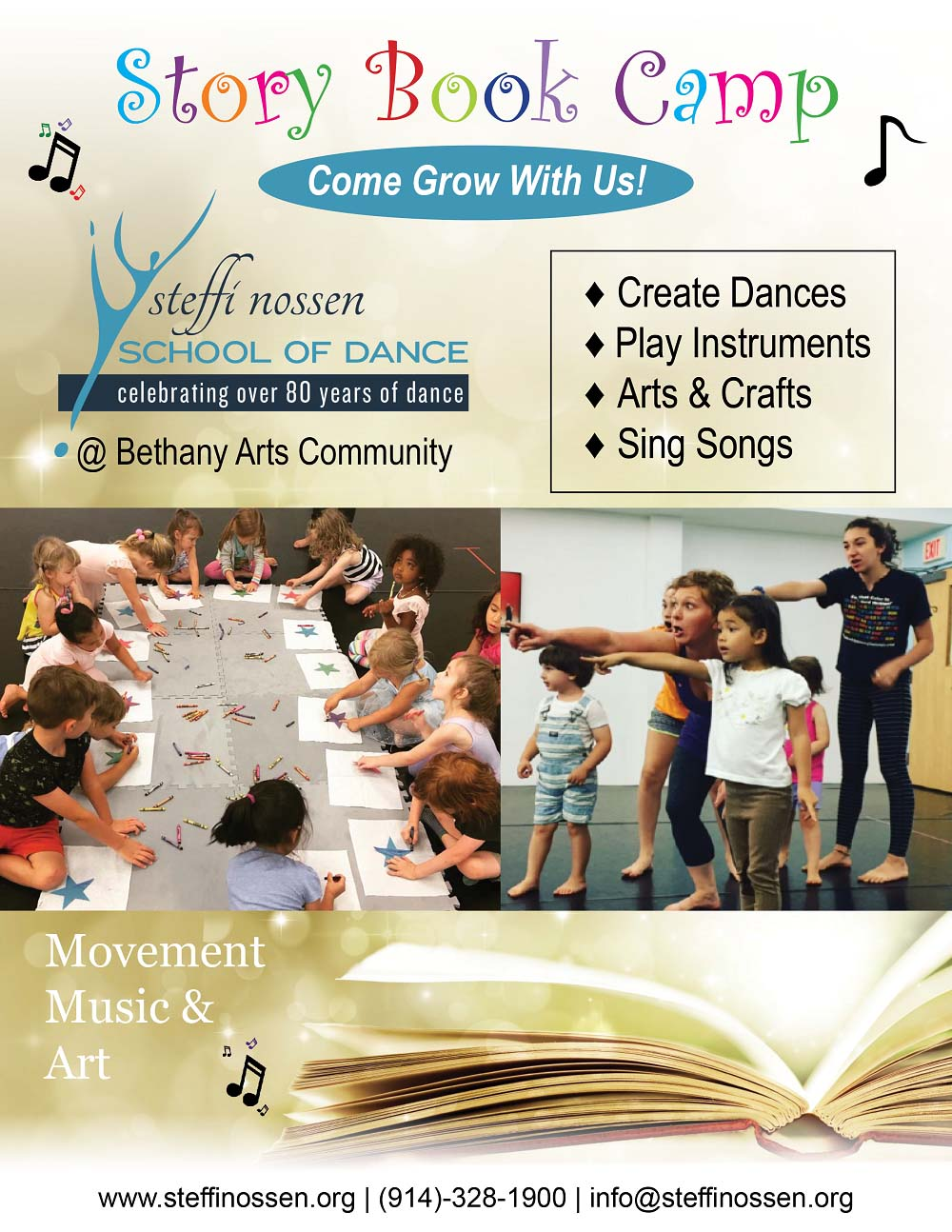 Story Book Camp with Steffi Nossen School of Dance