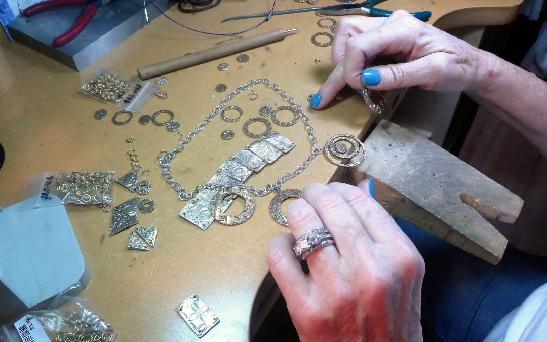 Metal Clay Jewelry for Beginners with Instructor Barbara Kirby