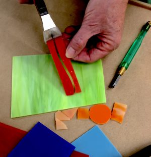 Advanced Glass Cutting Workshop with The Chicago Mosaic School