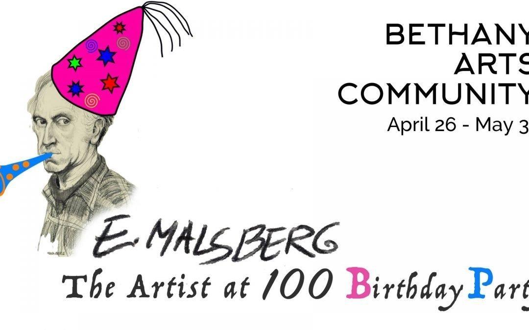 Exhibit Closing Reception & 100th Birthday Party for Ed Malsberg