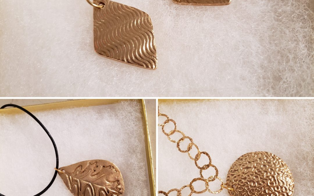 Bronze Metal Clay Jewelry for Beginners with Instructor Barbara Kirby