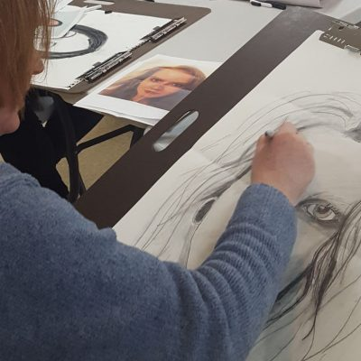 Drawing the Portrait at Bethany Arts Community