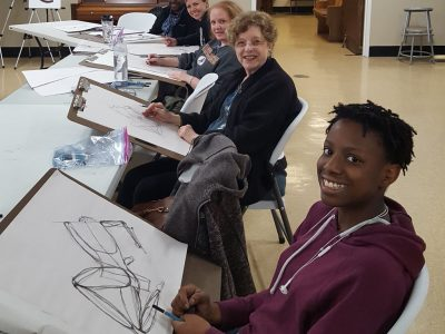 Drawing the Portrait Class at Bethany Arts Community