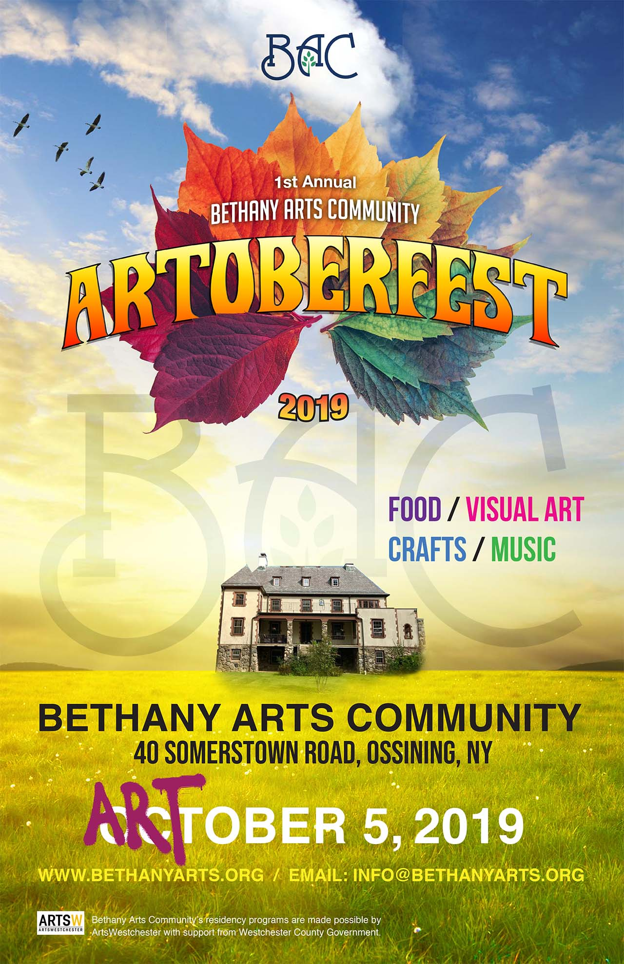 Artoberfest 2019 at Bethany Arts Community