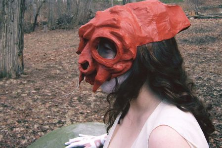 Mask making workshop with Lavinia Roberts
