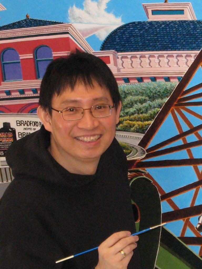 Kong Ho Art Exhibition at Bethany Arts
