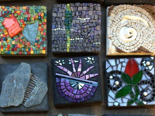 Broken but New: Picassiette Mosaics