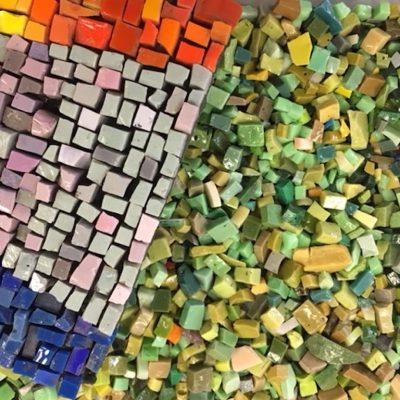 The Chicago Mosaic School Smalti Basics Workshop