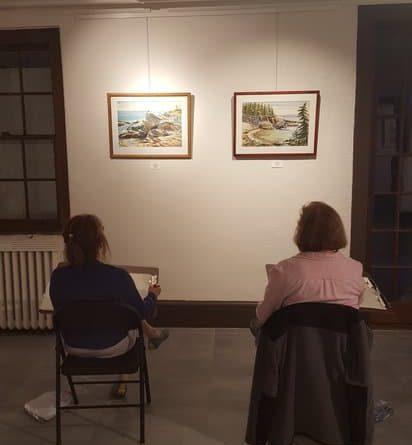 Intermediate Drawing Class at Bethany Arts Community