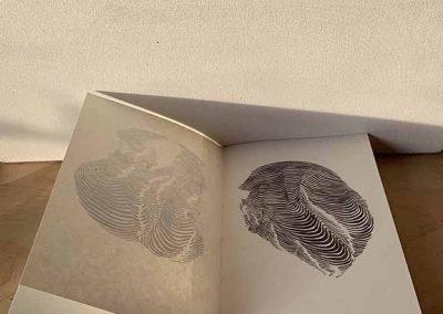 "Alta Buden, Handmade book of drawings, 6"" x 8"""