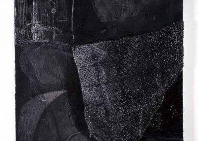 "Ahna Serendren, Tarpit, acrylic, oil and mixed media on canvas, 36"" X 48"", 2018, $2000"