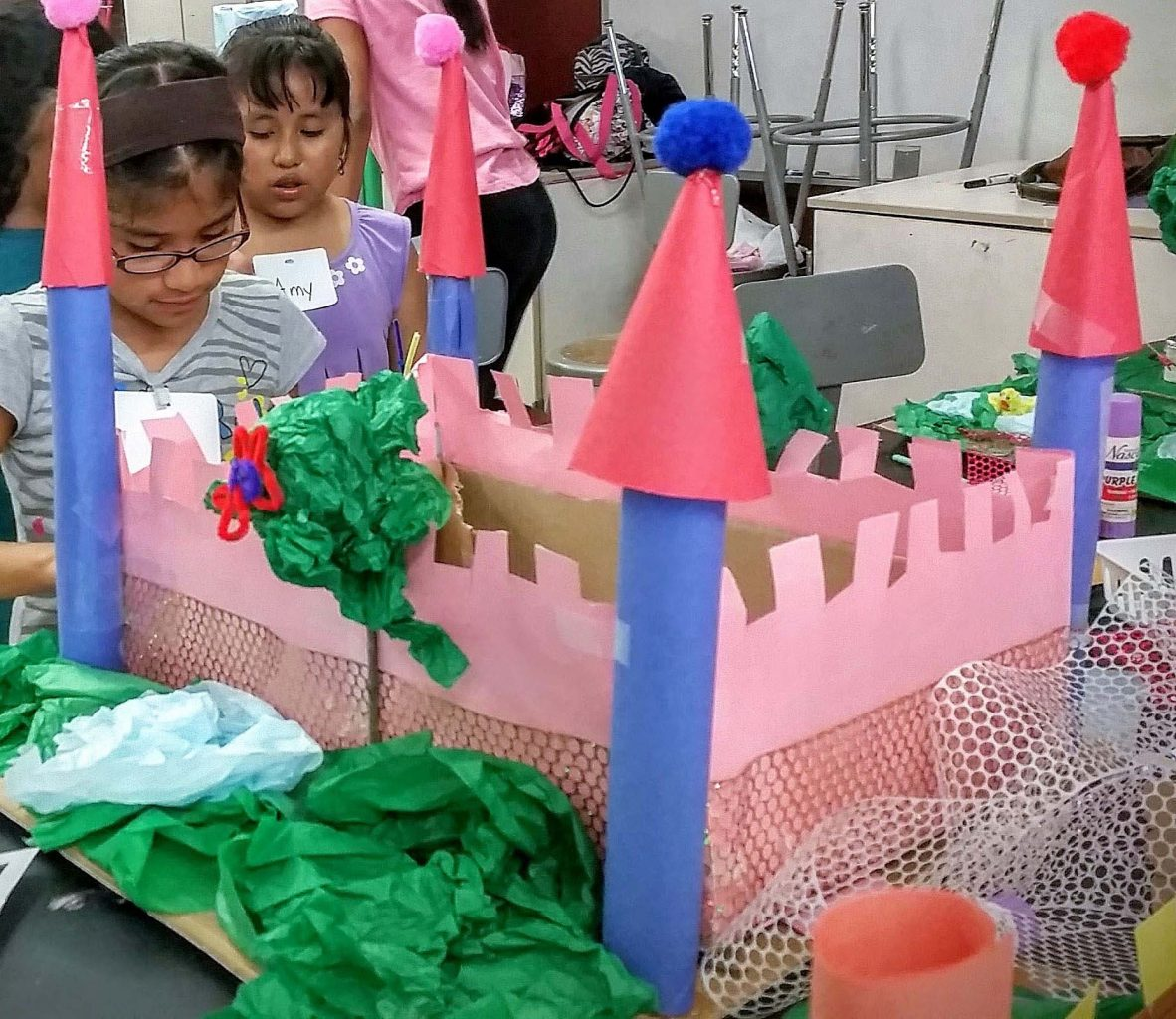 Archforkids workshop Castle Making