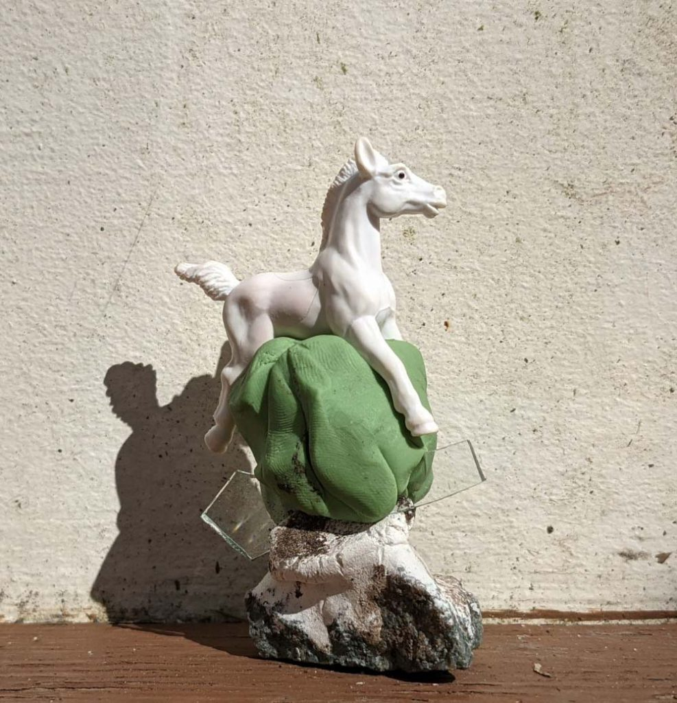Anna Adler-Small Assemblage with Horse